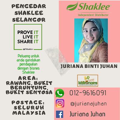 Pengedar Shaklee Bukit Beruntung 0129616091