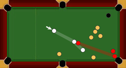 blackball pool rules legal shot