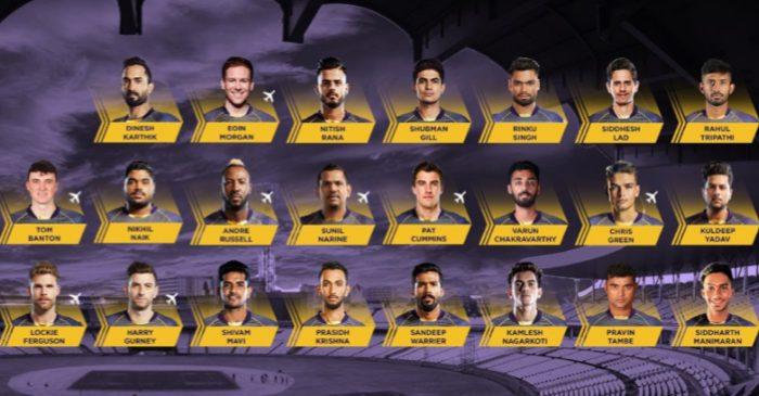 Kolkata Knight Riders team squad 2021 with Photos, IPL 2021 KKR Players Pics, Images