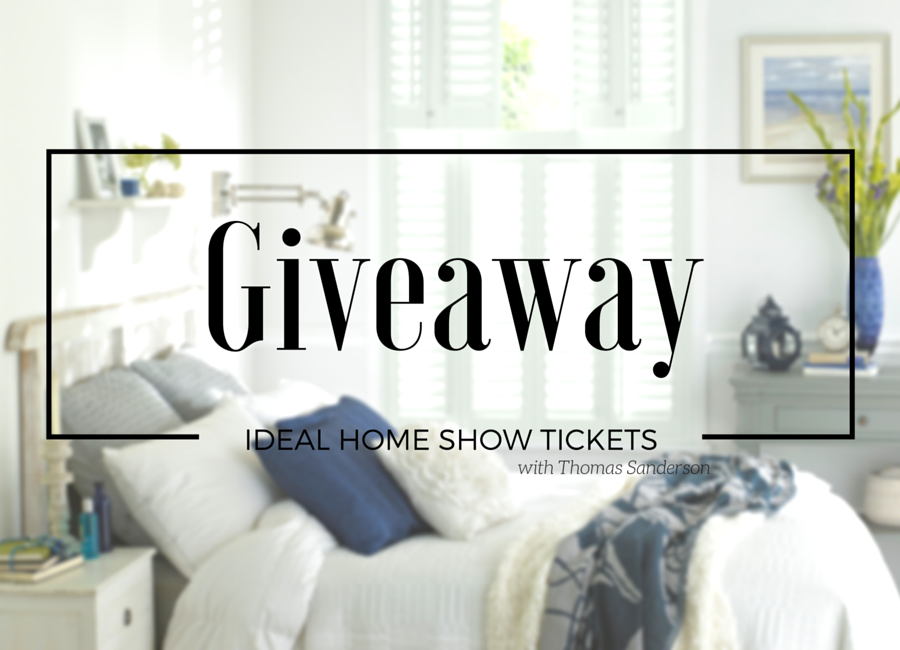 an image of WIN Ideal Home Show Tickets 2016
