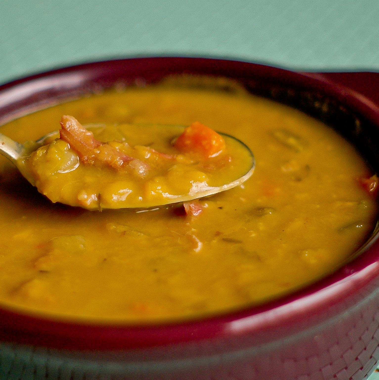 The Yum Yum Factor: Split Pea Soup with Ham