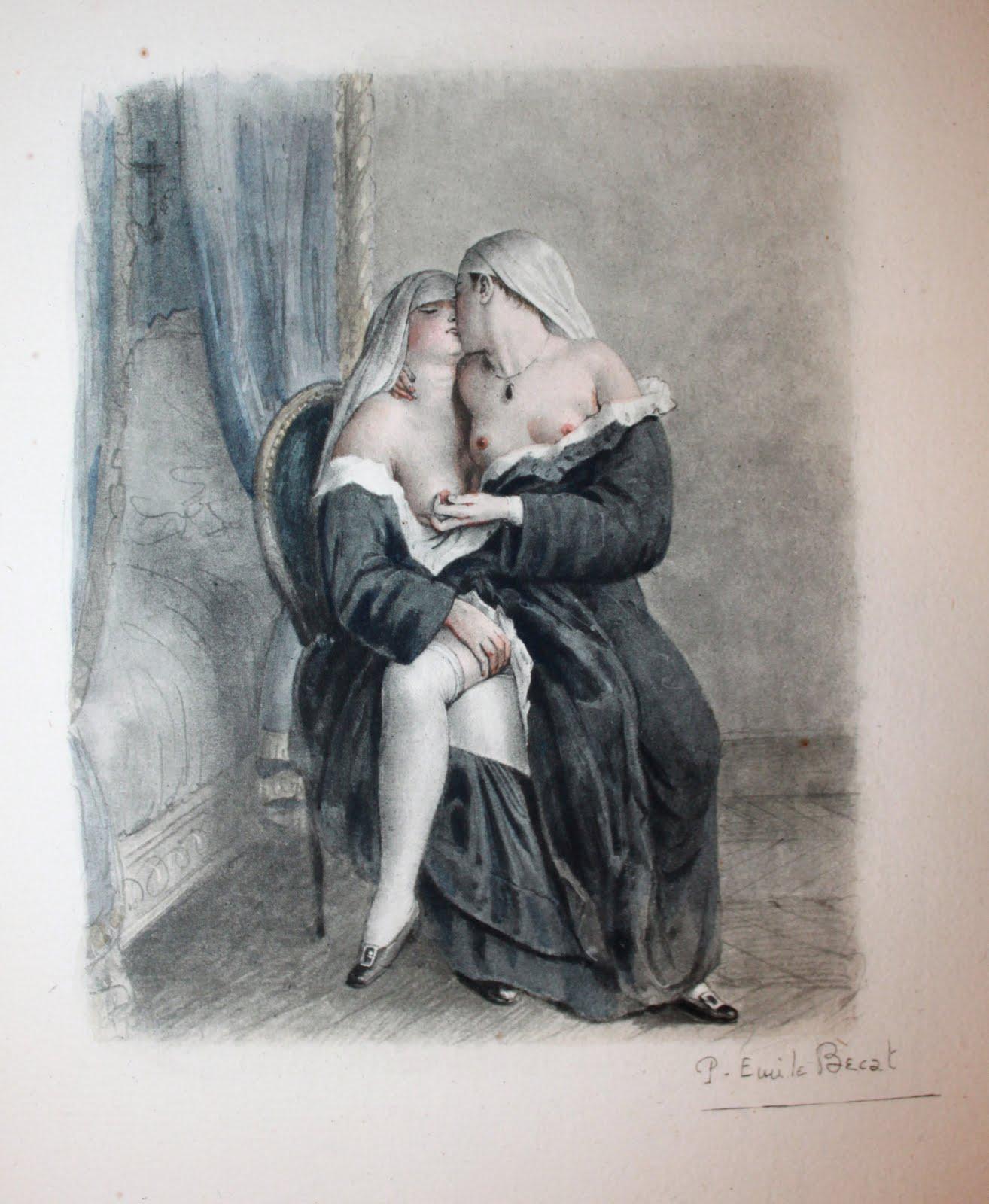 порнографические рисунки монахинь постоянно