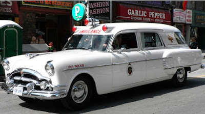 Vintage Toronto ambulance Based Packard 1954