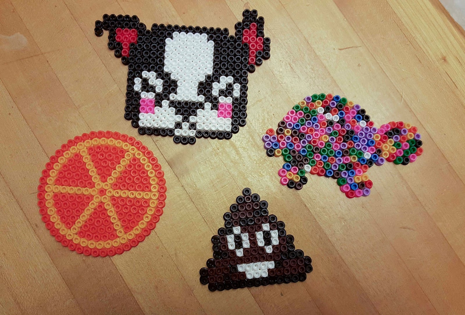 Pyssla Chemknits: Adventures With Perler And Pyssla Beads