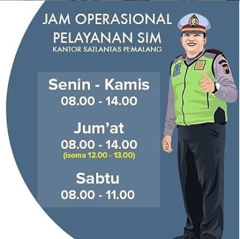 Jadwal Layanan SIM di Satlantas Polres Pemalang