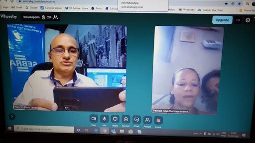 Atendimento por videoconferência orienta sobre gestão de negócios, marketing digital e canais de crédito disponíveis