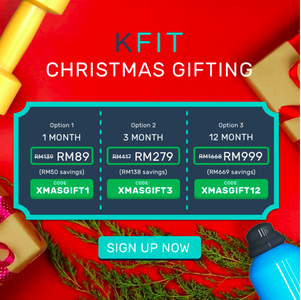 KFit promotion discount offer code malaysia christmas 2017 new year 2018 dec 2018