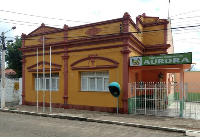 Prefeitura de Aurora decreta luto oficial de três dias e ponto facultativo nas repartições públicas do muncípio em virtude do falecimento do ex-vereador Edísio Leite