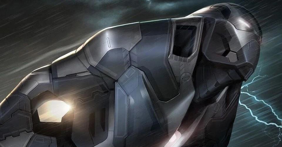 Marvel artist shows off Shotgun armor we never saw in Iron Man 3