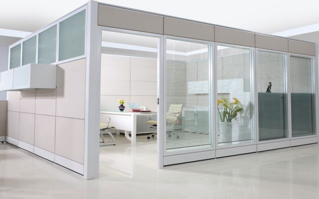 Fashion High Glass Partition Wall