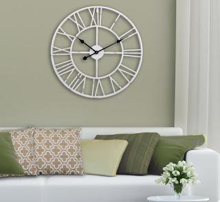 Jam dinding ruang tamu keren