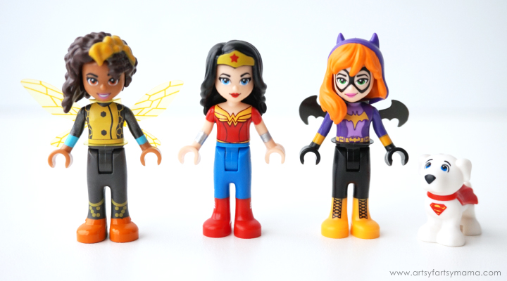 Adventures with LEGO DC Superhero Girls