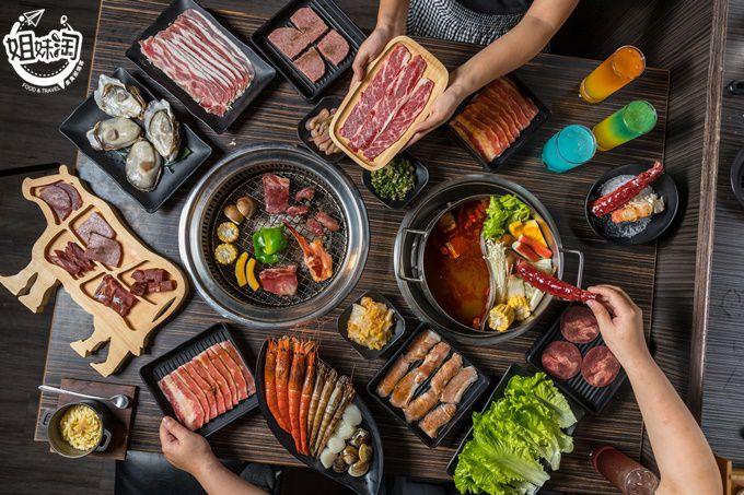 激推日本和牛肉排!!!!吃一次就忘不了,肉品海鮮吃到飽還不夠看,這裡還有調酒喝到飽-好客燒烤