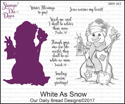 Stamp/Die Duos: White as Snow