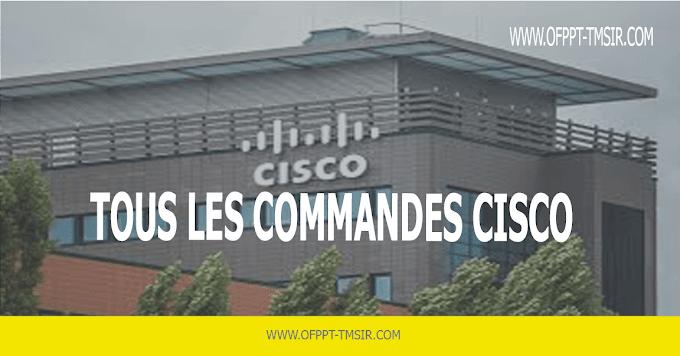 Les Commande de Cisco