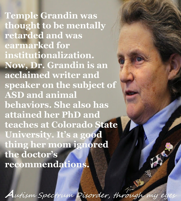 temple grandin essay animals are not things Dammit, stop criticizing temple grandin because 'all' she has done is educate an entire industry, to reduce the fear of the animals, to reduce time they spend in an atmosphere of death humane slaughter may be a contradictionuntil you understand how its been done by the the workers, for many years.