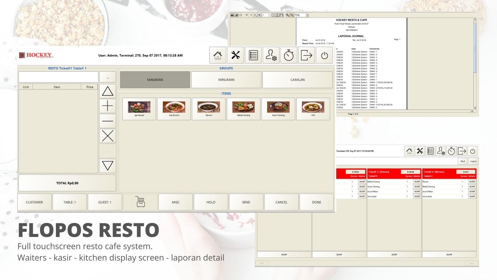 program restoran gratis free download