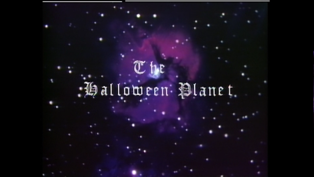 The Halloween Planet title card