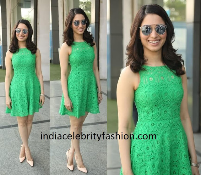 Tamannaah Bhatia in Lace Dress Publish