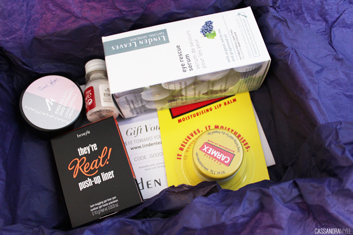 GOODIE BOX // July '14 'Birthday Box' | End of Month Review - CassandraMyee