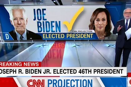 BREAKING! Joe Bidden Wins, Becomes 46th President Of The United States Of America