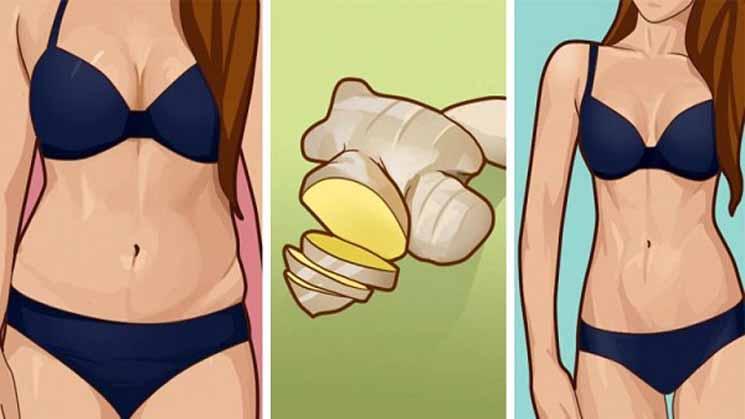 Metode Diet Sederhana dengan Menggunakan Jahe, Susutkan Lemak 3Kg Plus Bonus BAB Lancar !!