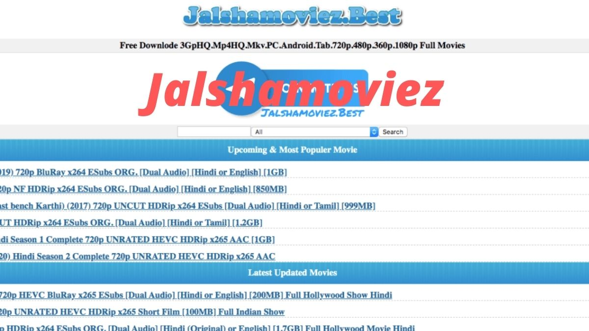 Jalshamoviez 2020: Jalshamoviez Download Illegal Bollywood Hindi HD Movies