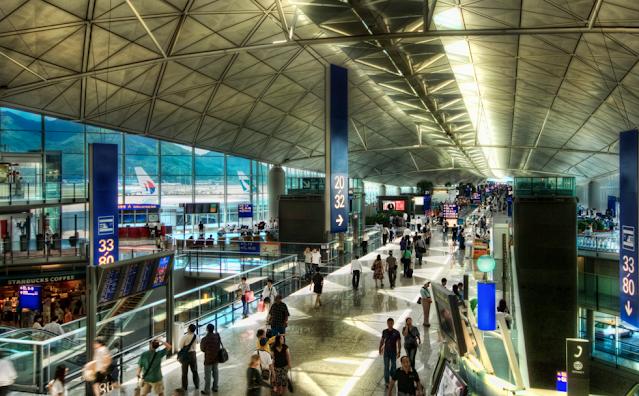 Lotnisko w Hong Kong Chiny