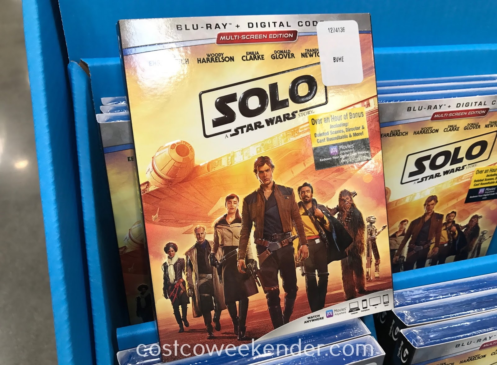 Enjoy watching how the story of Han Solo and the Millenium Falcon all started with the Solo: A Star Wars Story Blu-ray