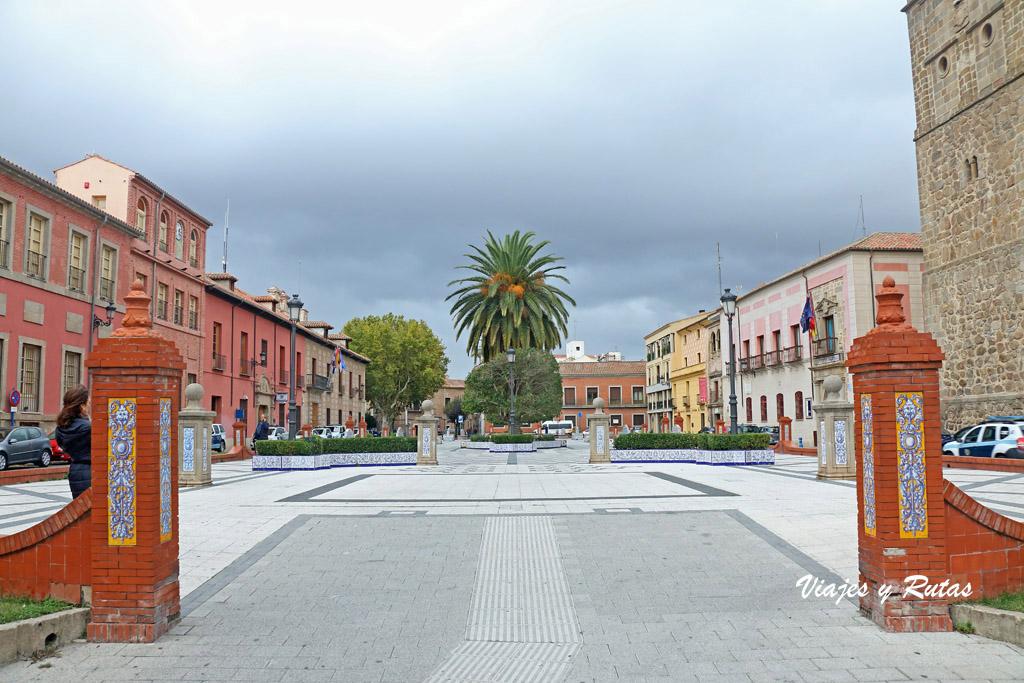 Plaza del pan, Talavera de la Reina
