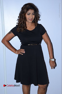 Tollywood Actress Geethanjali Thasya Latest Pos in Black Short Dress at Nanna Nenu Na Boyfriends Audio Launch  0025.JPG