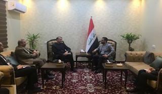 الأمير عبد الله يجتمع مع مسؤولين عراقيين