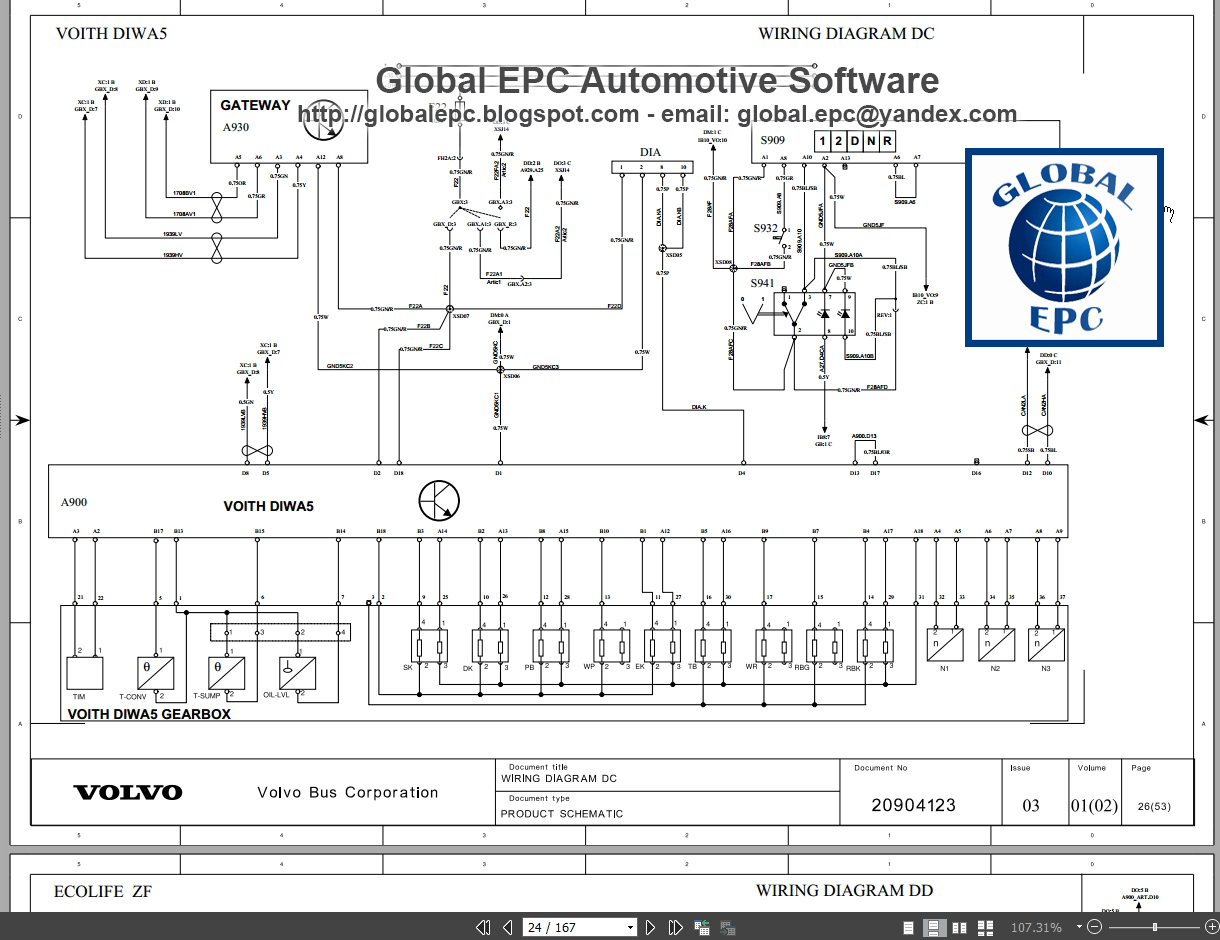 multiplex electrical system version 2 wiring diagram b13r with d13c b13r with d13f publication date 02 2009 english multiplex electrical system version  [ 1220 x 940 Pixel ]