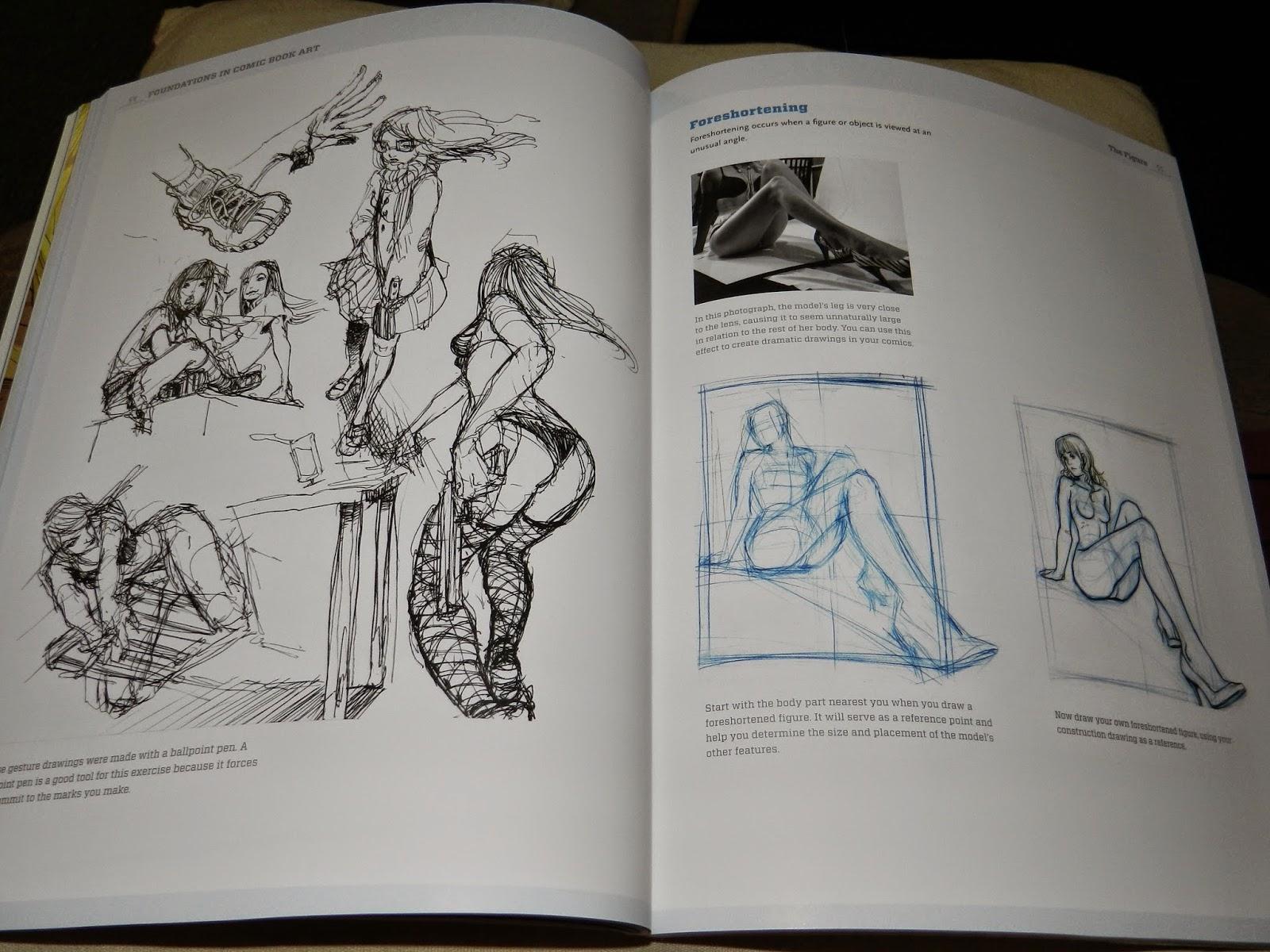 Comic book art critique rubric