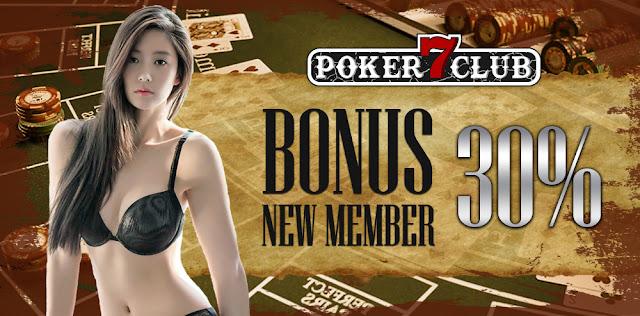 Bonus poker member baru