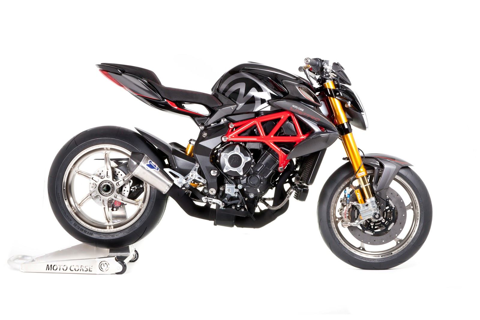 racing caf mv agusta brutale 800 spettro by moto corse. Black Bedroom Furniture Sets. Home Design Ideas