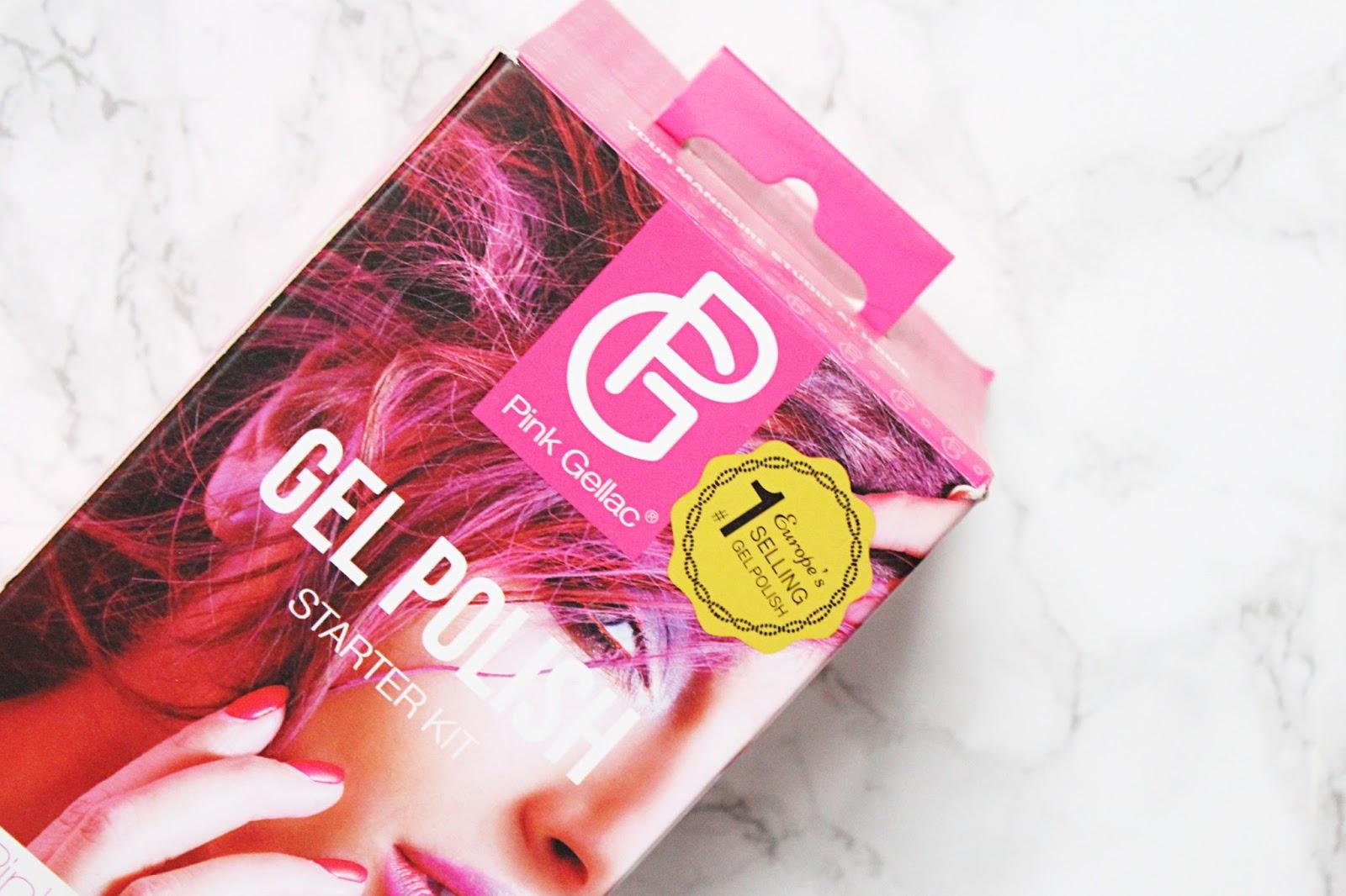 Pink Gellac Gel Polish Starter Kit
