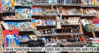 Wajib perhatikan manfaat / fungsi dari souvenir yang kamu pilih