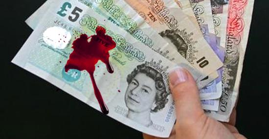 Dinheiro animal: Veganos se revoltam contra notas do Reino Unido