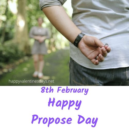 Propose Day 2021 Date: 8th February Monday