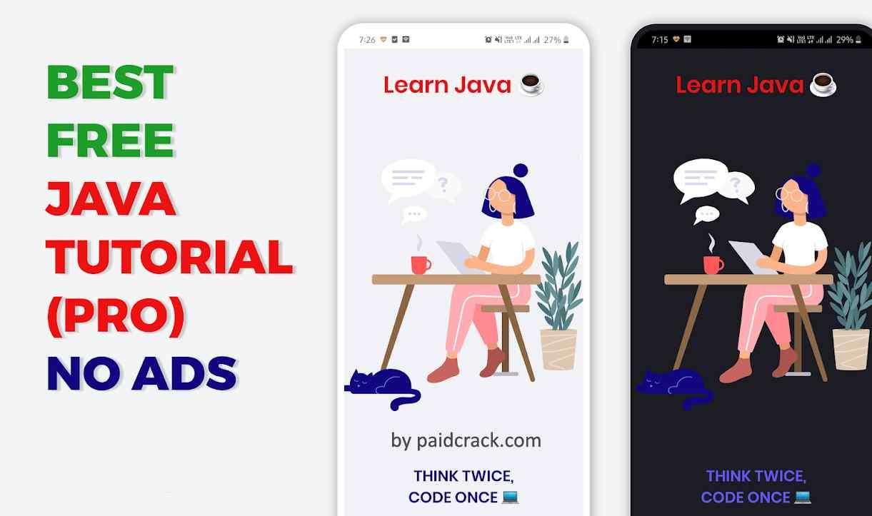 Learn Java Programming Tutorial - PRO (NO ADS) Mod Apk 2.0