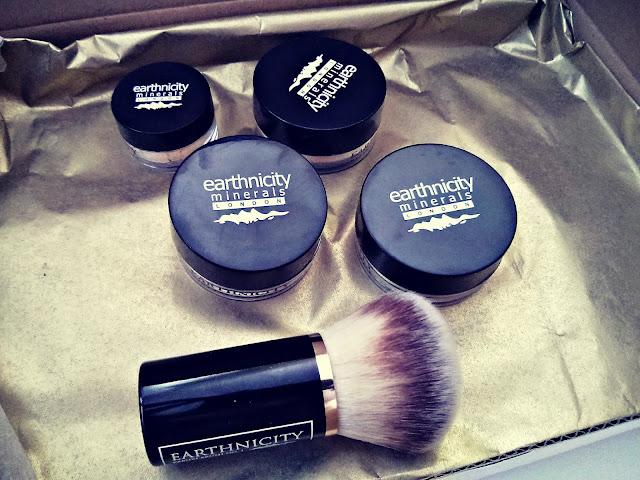 Zestaw mineralny od Earthnicity +jak ja nakładam kosmetyki mineralne