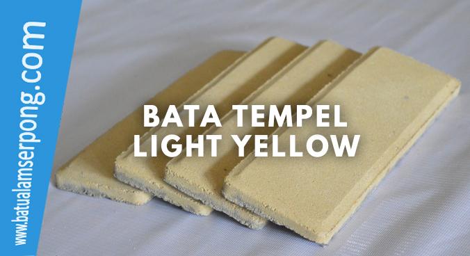 bata tempel kuning