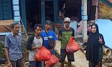 Tiba Di Sulbar, Tim Vidycoin Menyisir Pengungsian di Pedalaman Mamuju dan Majene