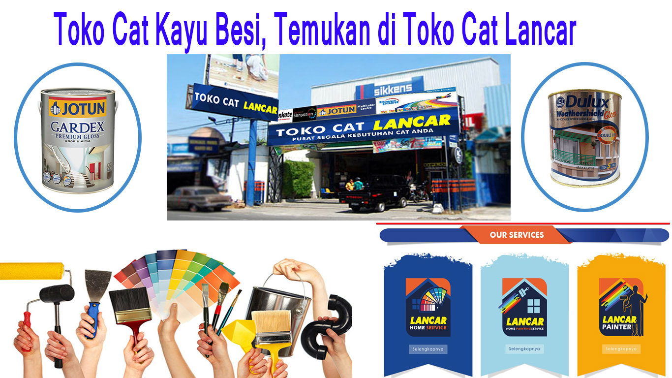 Toko Cat Kayu Besi
