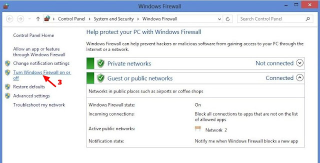 firewall windows 8 dan 8.1