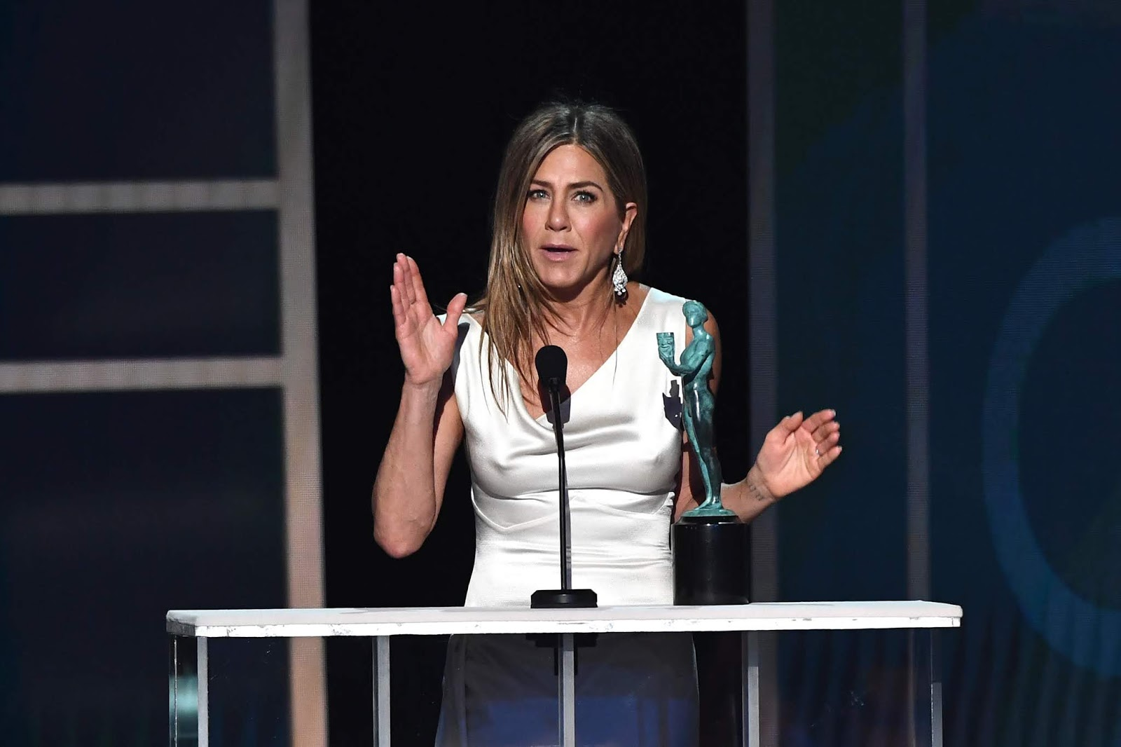 Jennifer Aniston won her first SAG Award in nearly 25 years