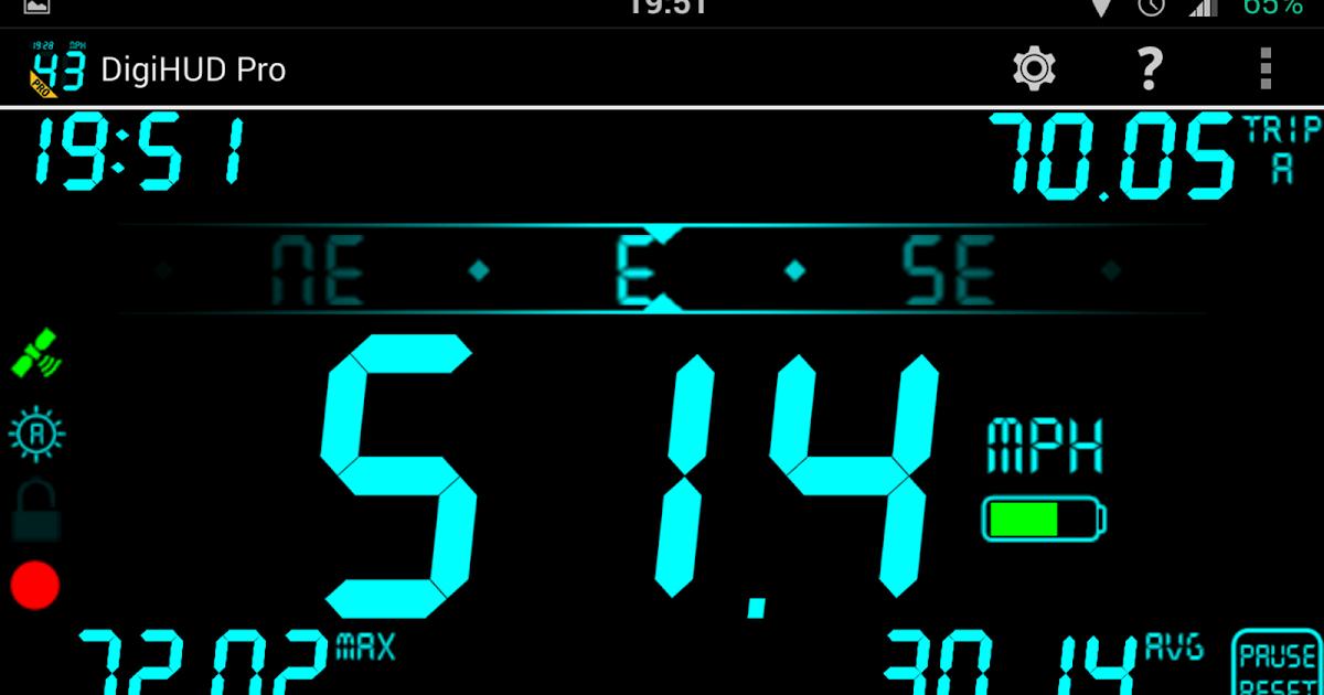 DigiHUD Pro Speedometer v1 0 18 3 Apk | MafiaPaidApps com | Download