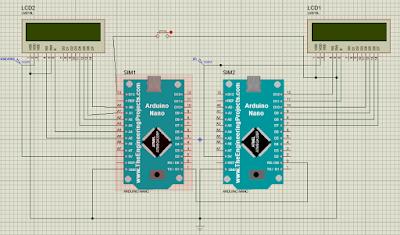 UART (TX RX) Antar Arduino Nano pada Proteus | Belajar Arduino