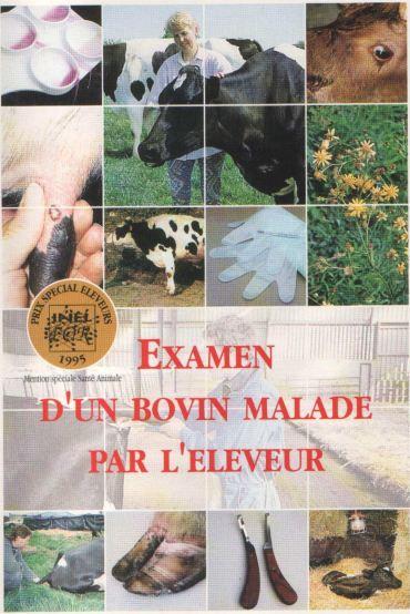 EXAMEN D'UN BOVIN MALADE PAR L'ELEVEUR - WWW.VETBOOKSTORE.COM